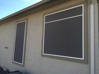 Ash Colored Solar Screens