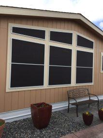 Custom Shaped Solar Screens