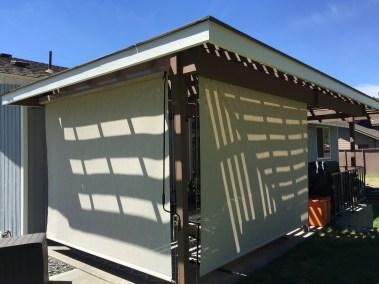 Stucco Solar Shades