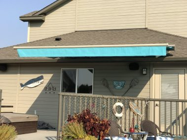 Sunbrella Aruba Fabric Retractable Awning
