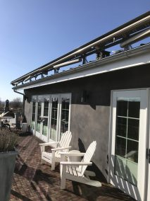 Roof Mounted Retractable Awnings
