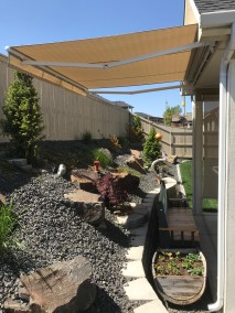 Silica Dune Retractable Awning