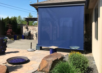 Custom Colored Solar Patio Shades