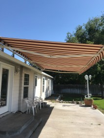 Havelock Brick Stripe Awning