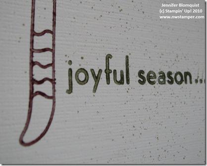 joyful season close up sm