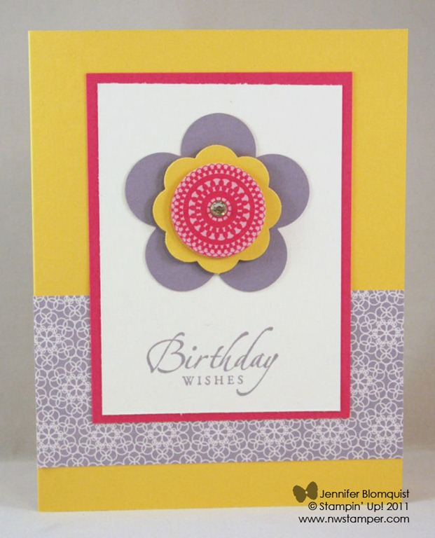 How To Cut A Standard Card Base Northwest Stamper – Size of Birthday Card