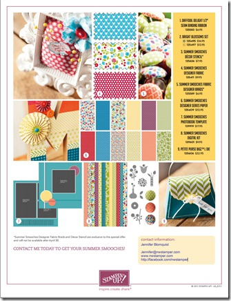 summer smooches flyer page 2