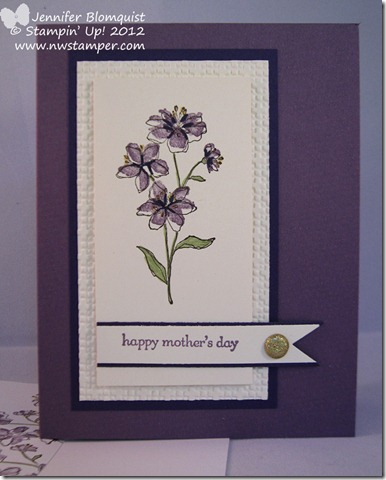 hostess mothers day card full