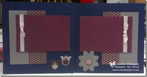 Razzleberry Splash Scrapbook in a Day page 2