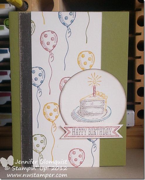 Sketched Birthdays Birthday card