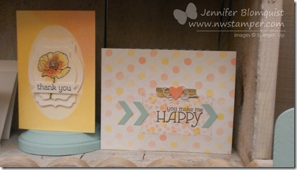 Stampin Up new product sneak peek for Occasions 2014