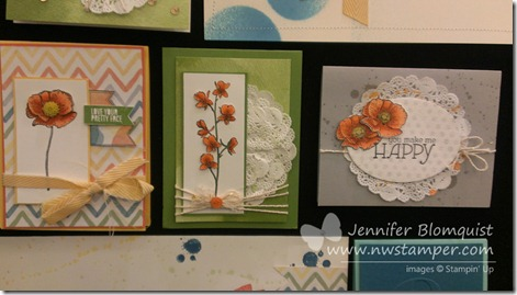 new stampin up product samples from Founders Circle