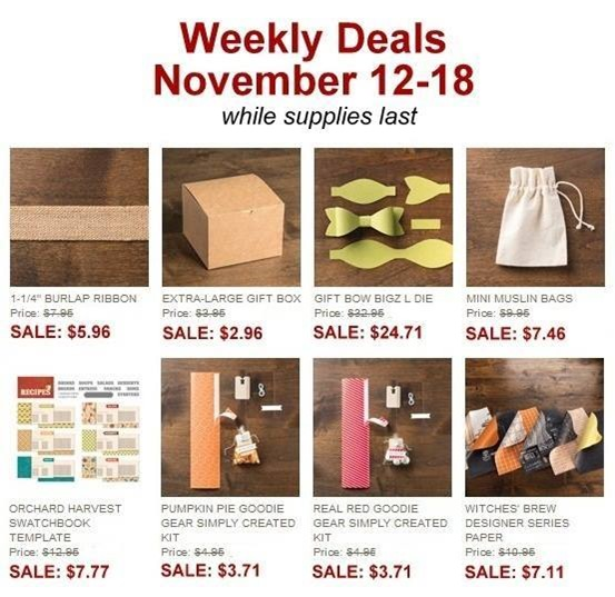 Nov 12-18 weekly deals