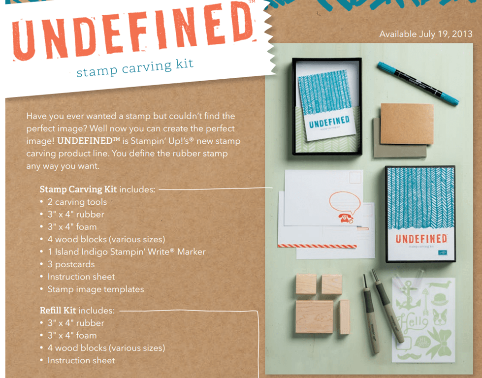 Hand Carved Travel Stamp Set with Undefined