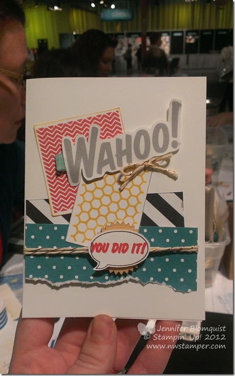 Paper Pumpkin Craft Wars wahoo card