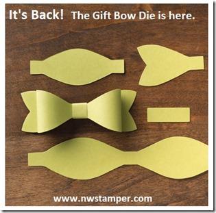 Gift Bow die