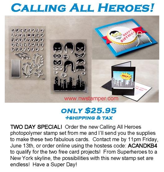 superheroes promo