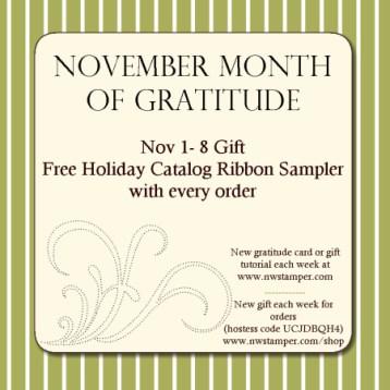 Gratitude Month Gift