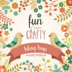 Fun n Crafty Blog Hop Team Badge