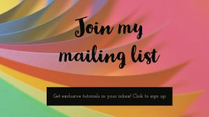 join the northwest stamper mailing list