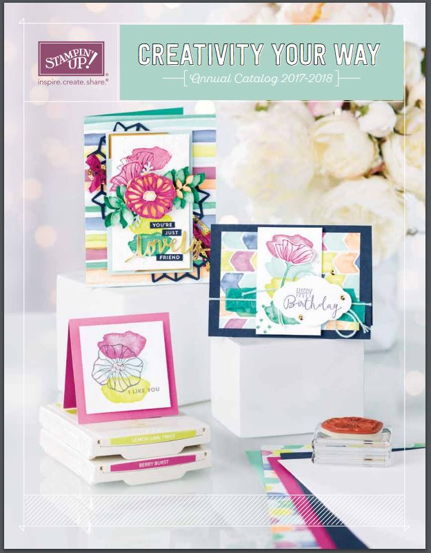 2017-2018 Stampin' Up Annual Catalog Cover