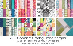 2018 Occasions Catalog Product Sampler - Paper Only