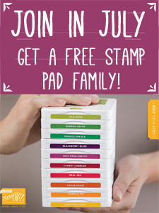 Join in July ink pad promotion image