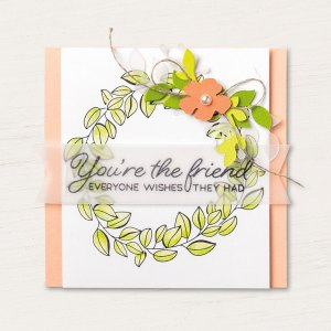 color your season grapefruit and lime wreath friend card