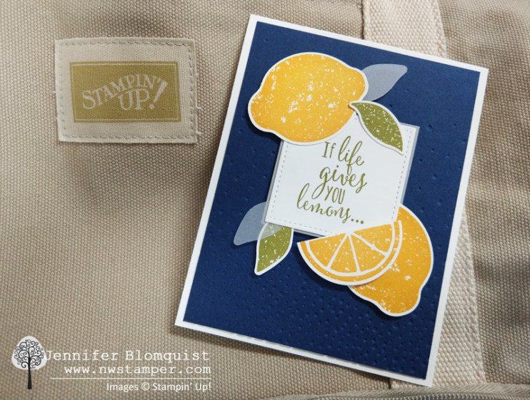 Life gives you lemons card cover