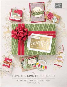 2018 Holiday Catalog Cover