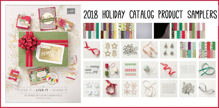 2018 Holiday Catalog samplers overview image