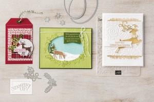 Dashing Deer Card Ideas