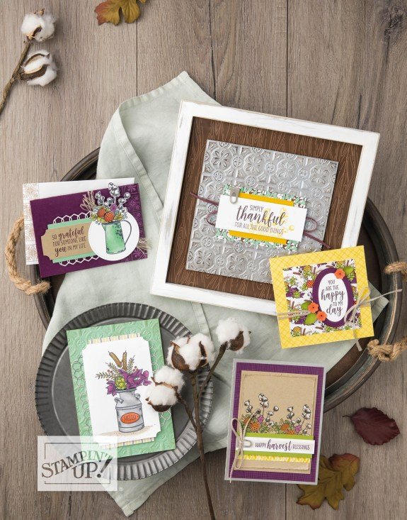 Country Lane suite card ideas