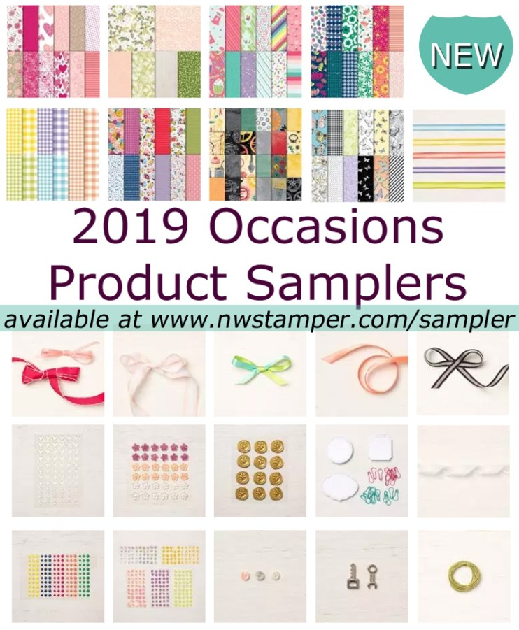2019 Product Sampler Items