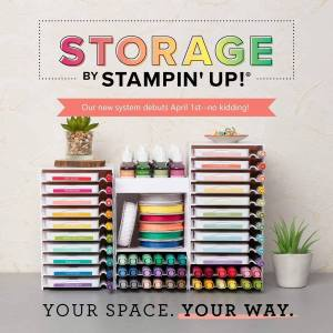 Customizable Storage for Stampin Up Inks and markers