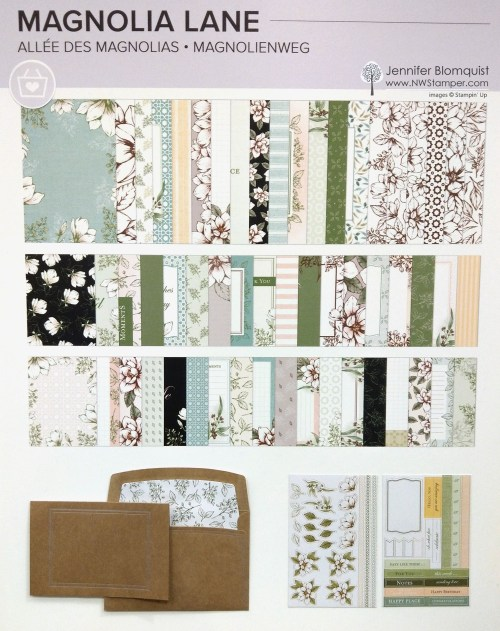 Magnolia Lane product suite from Stampin' Up!