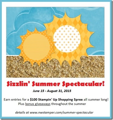sizzlin summer spectacular stampin up