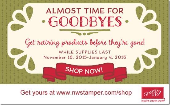 Holiday catalog retiring list 2015