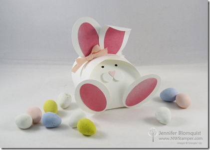 Curvy Keepsake Easter Bunny Treat Box