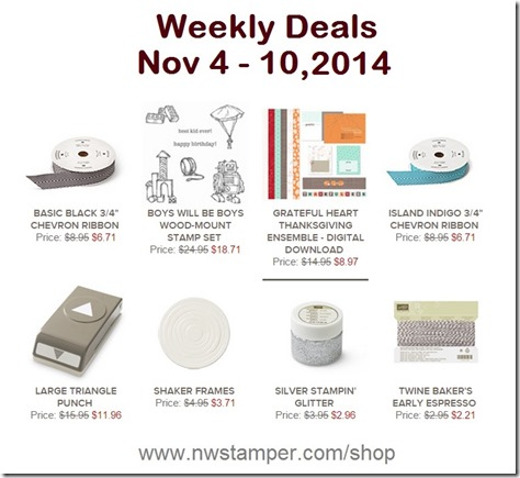 weekly deal 11-4-2014