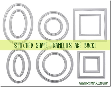 Stitched Shape Framelits are back