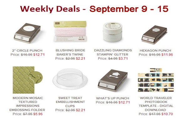 weekly deal 9-9-14