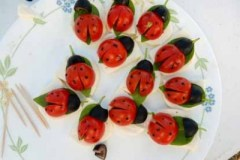 Sue's Lady Bug Appetizer - Big Hit