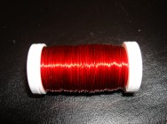 Red Metallic Wire
