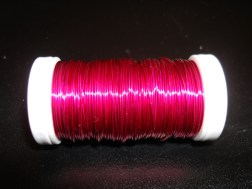 Strong Pink Metallic Wire