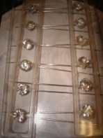 Crystal Corsage Pins