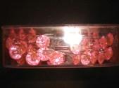 Pink Diamante Pins
