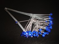 Royal Blue Rhinestone Spray