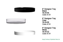 "6"" Designer Tray"
