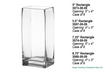 Rectangle Vases